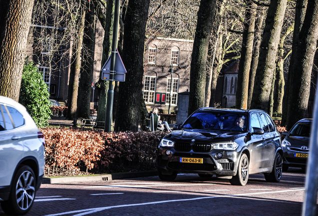 BMW X5 M F85 Edition Black Fire