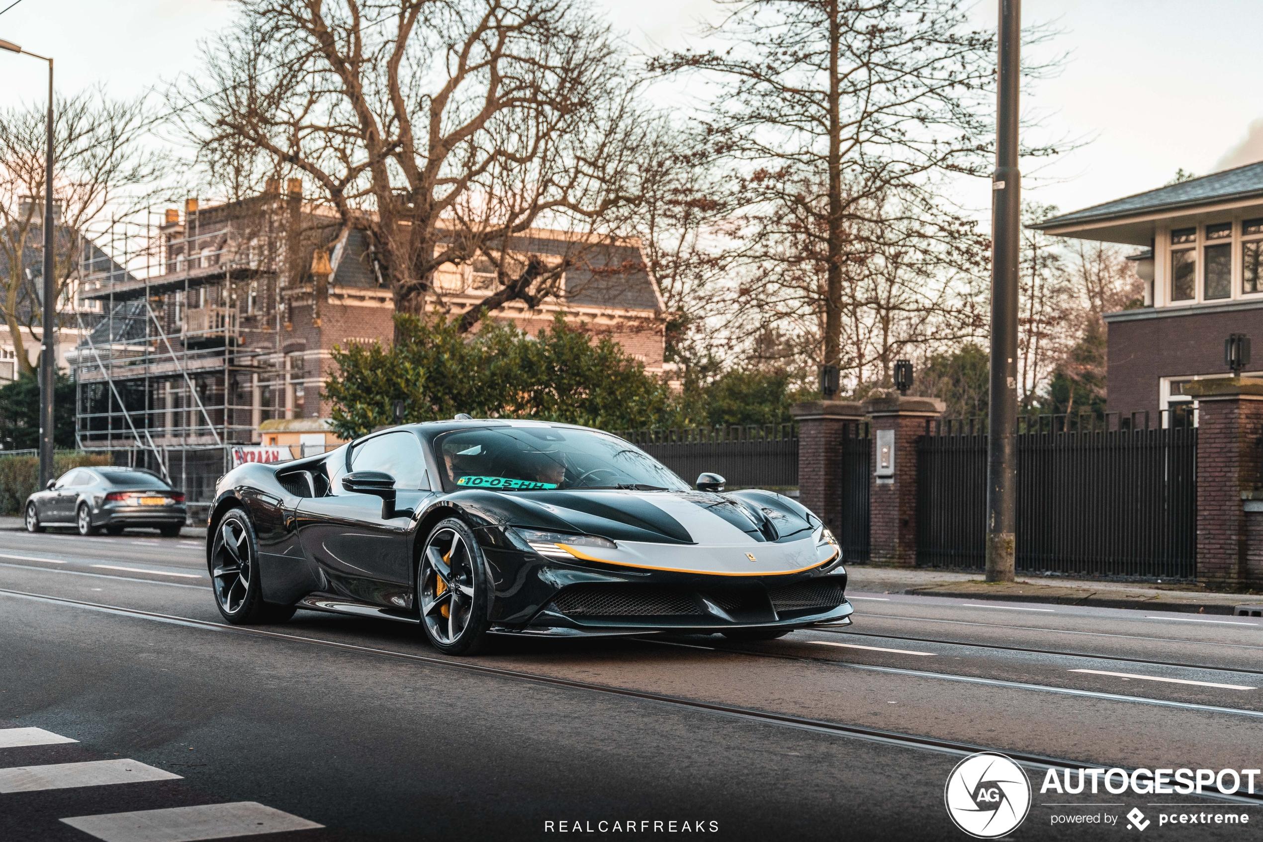 Tweede Ferrari SF90 Stradale Assetto Fiorano duikt op in Nederland