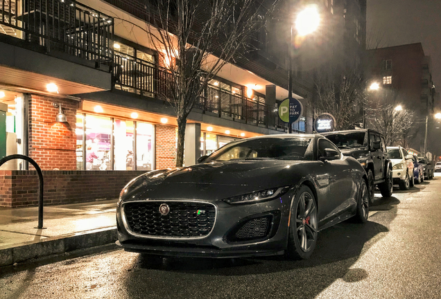 Jaguar F-TYPE R Coupé 2020