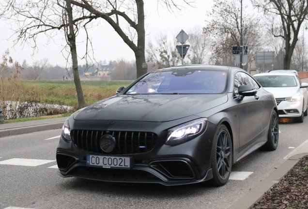Mercedes-AMG Brabus S B40S-800 Coupe C217 2018