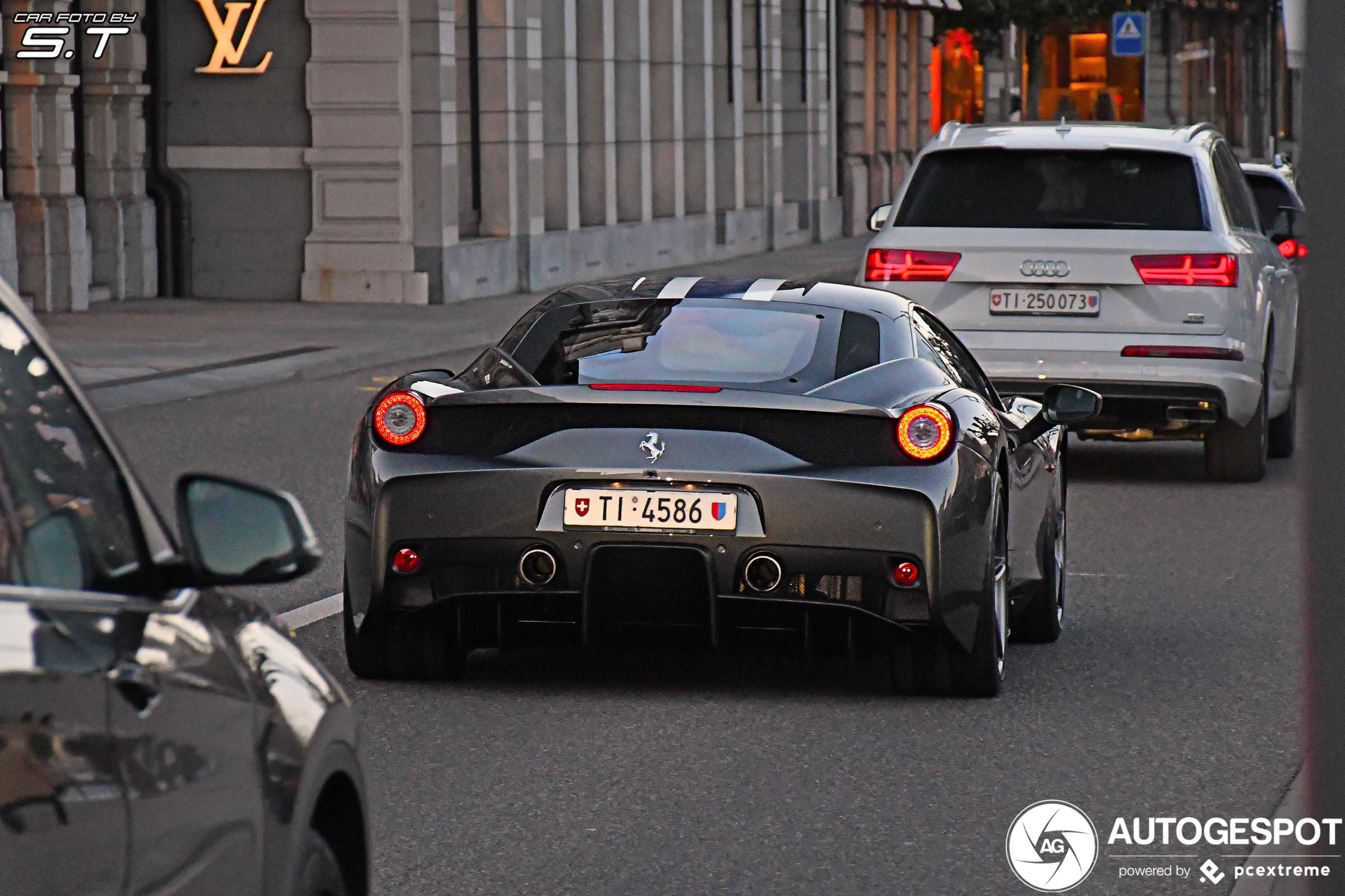 Nog altijd niets mis met de Ferrari 458 Speciale