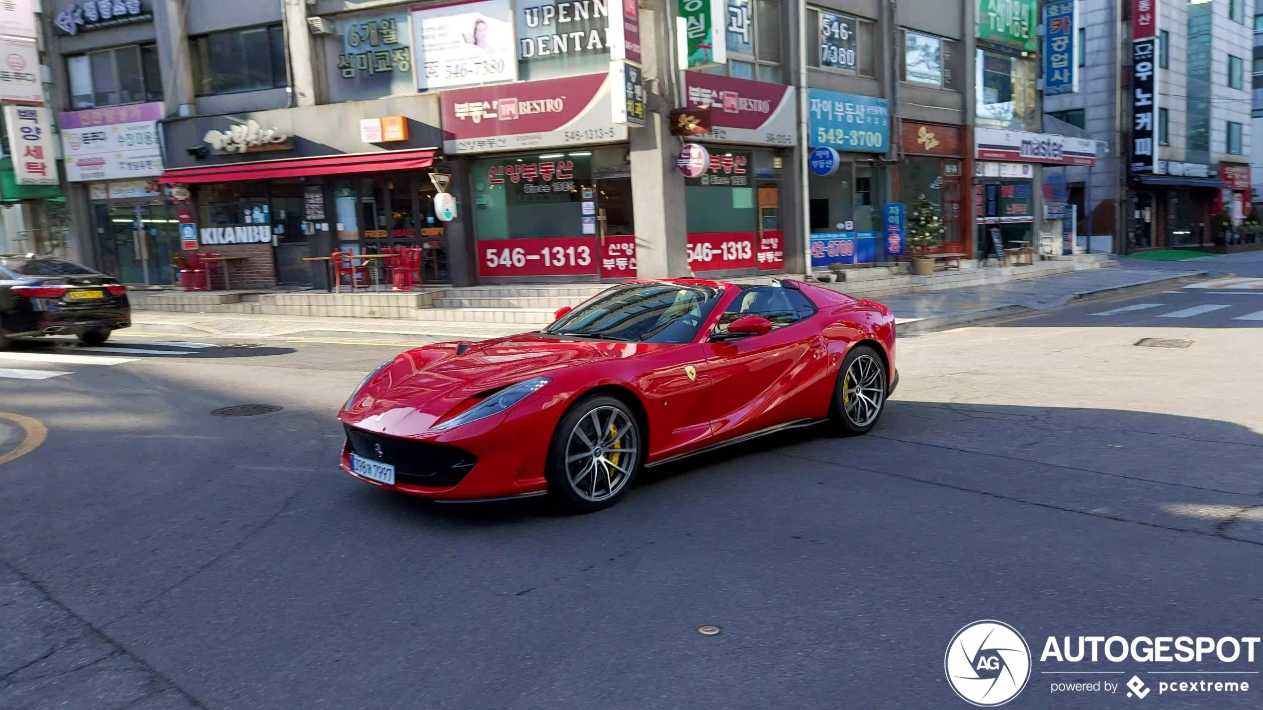 Exclusive cars also just drive in Seoul