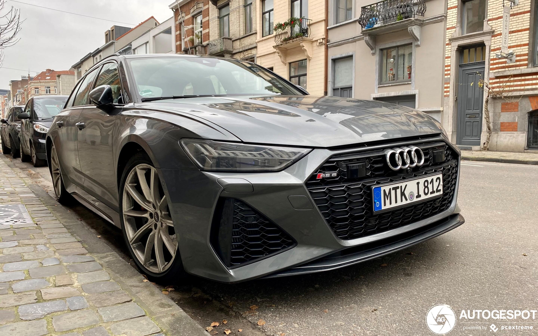 Audi RS6 Avant C8 - 4 January 2021 - Autogespot