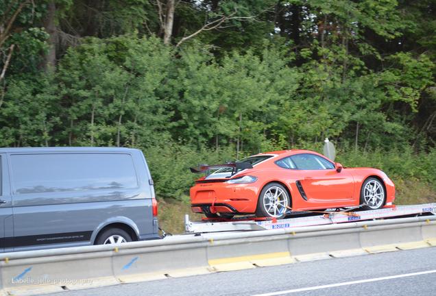 Porsche 718 Cayman GTS Clubsport