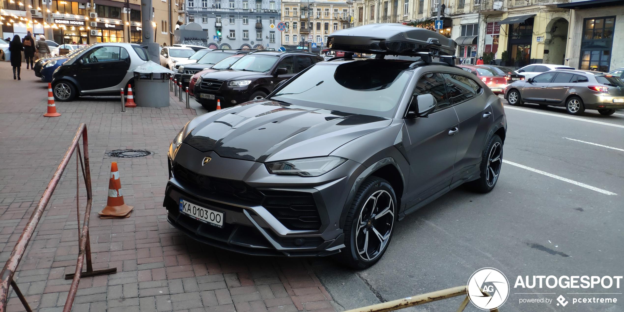 Lamborghini Urus Topcar Design valt lekker op