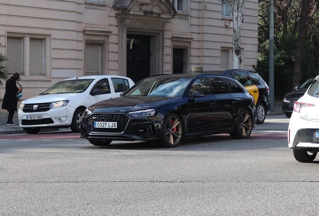 Audi RS4 Avant B9 2020 Bronze Edition