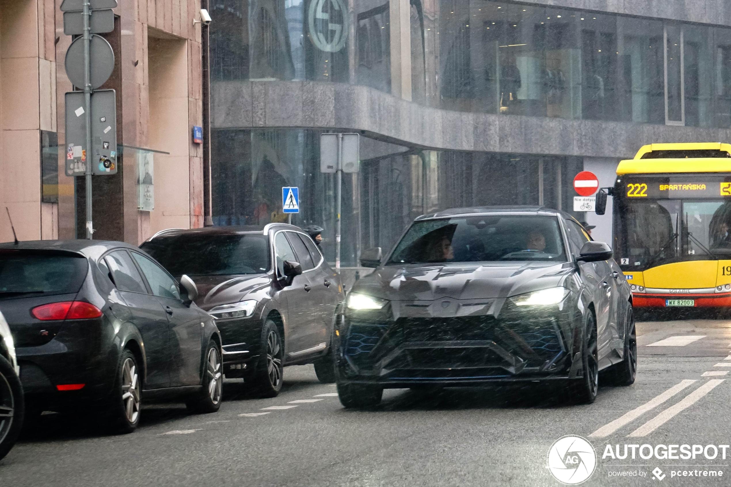 Lamborghini Urus Mansory Venatus is een gewild project