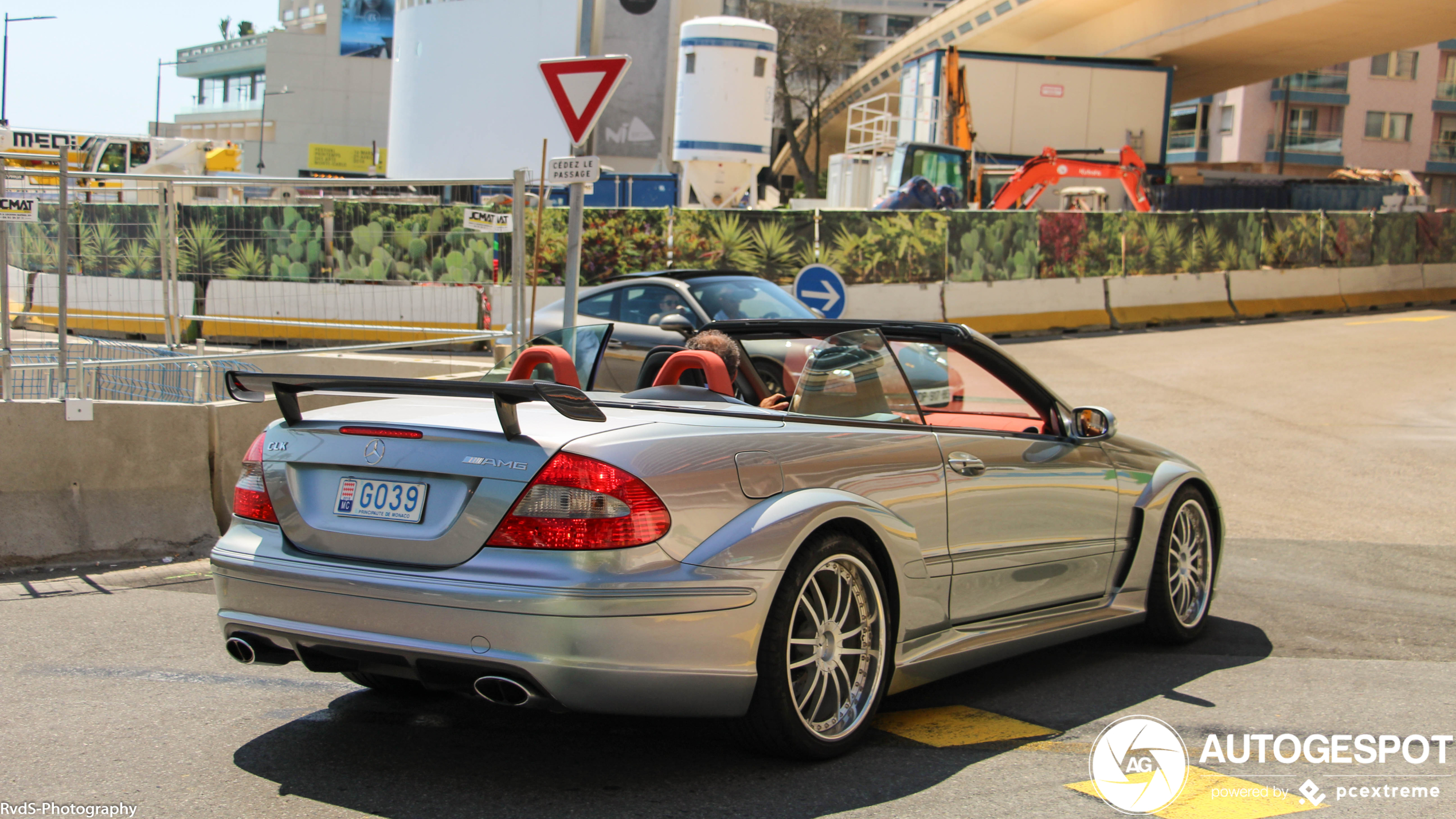 Mercedes-Benz CLK DTM AMG is also a permanent resident of Monaco