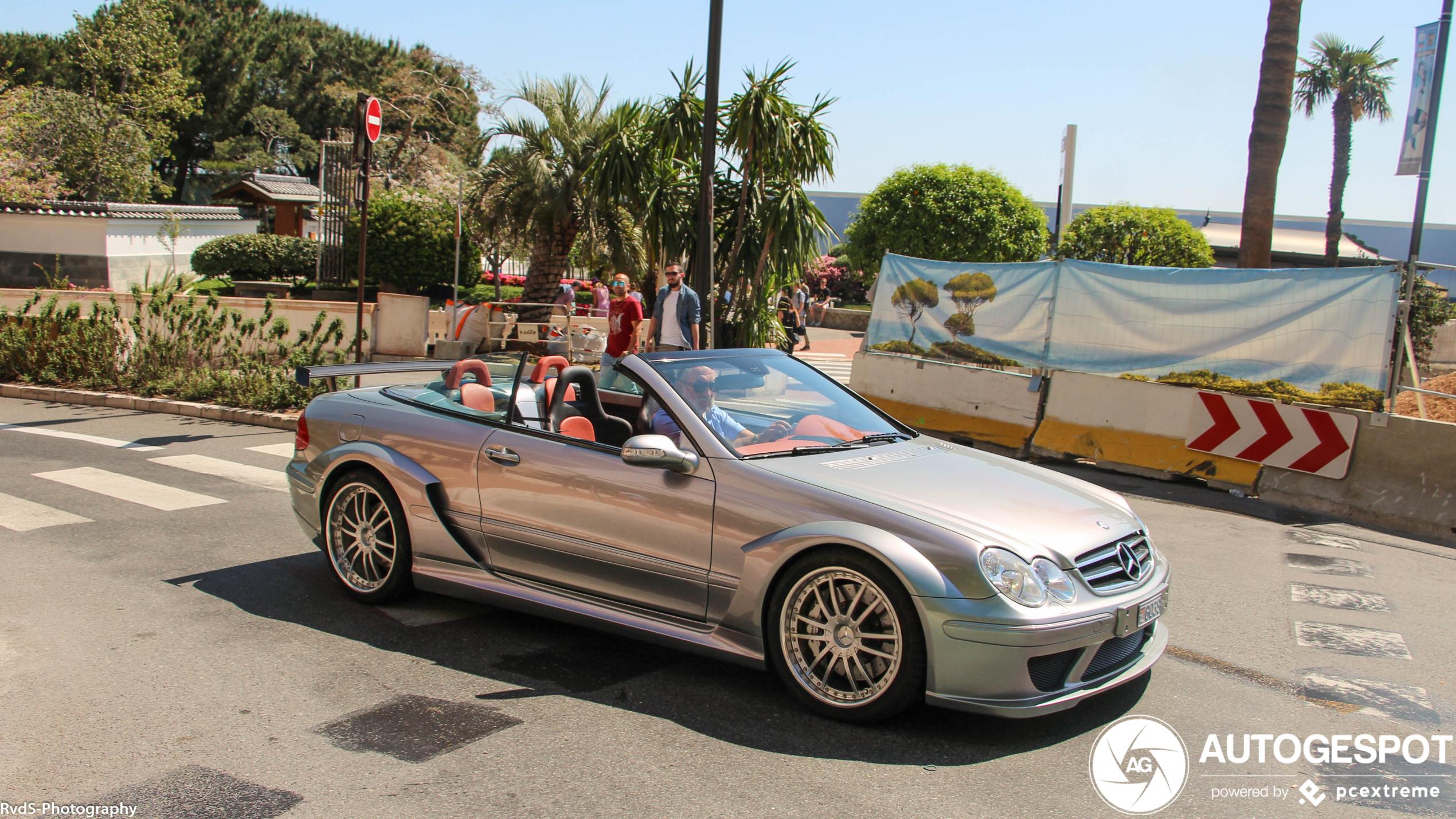 Mercedes-Benz CLK DTM AMG is ook een vaste inwoner van Monaco