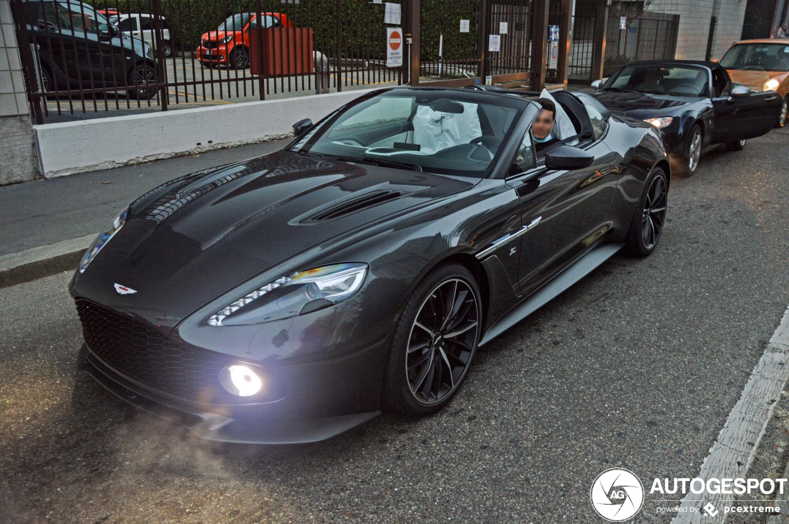 Vingerlikkend lekker! Aston Martin Vanquish Zagato Speedster