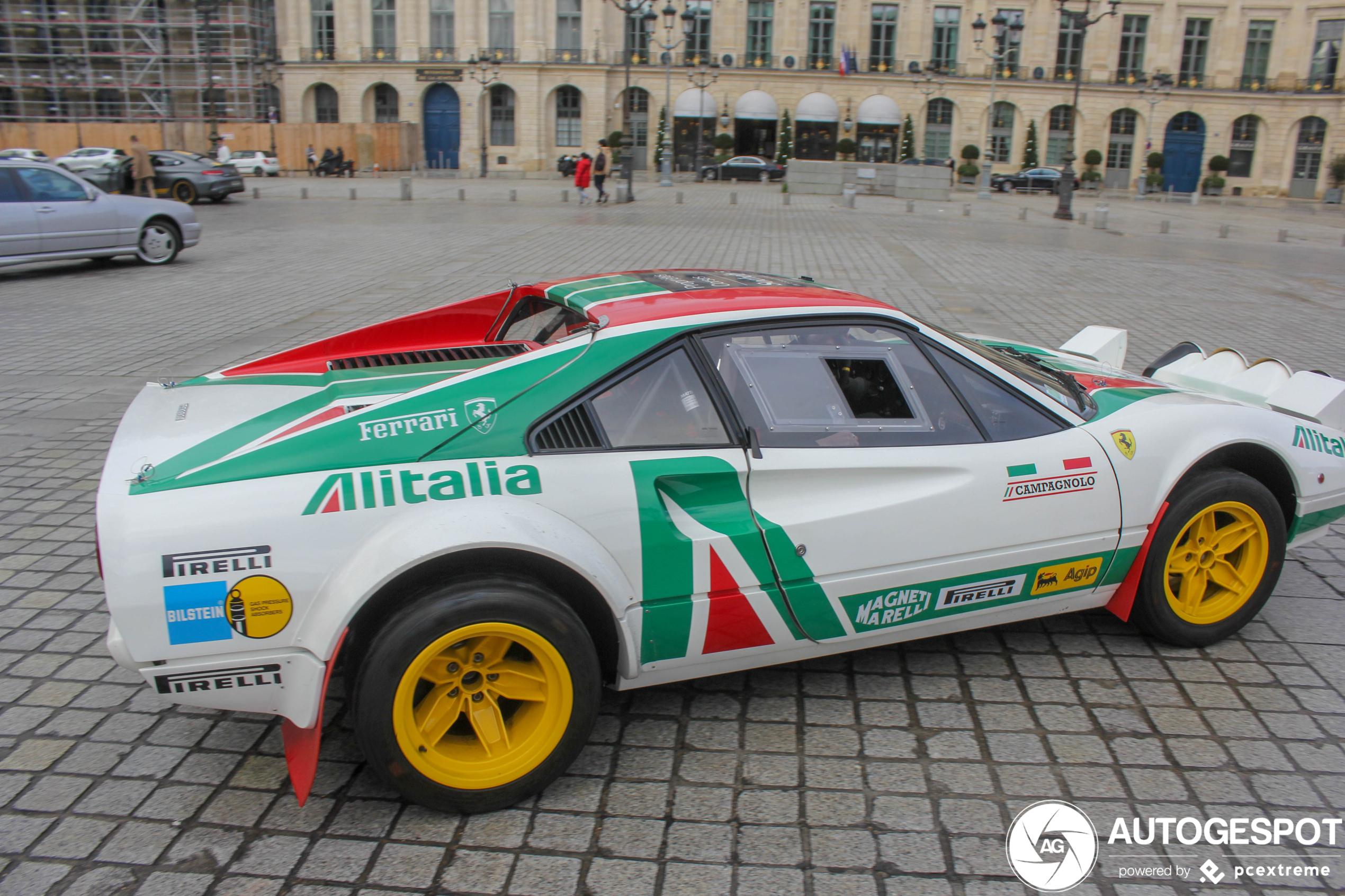 Dit is een Ferrari met een goede staat van dienst