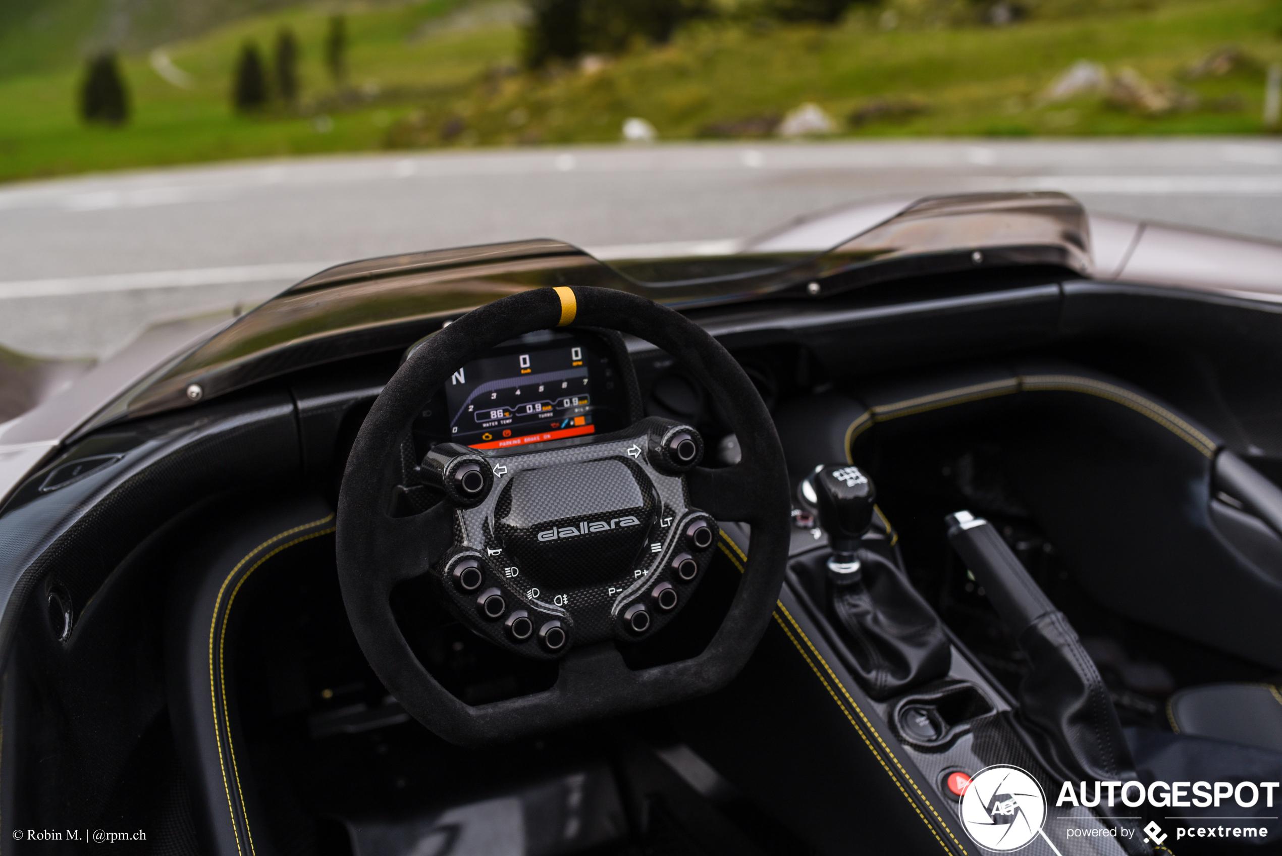 Dallara Stradale is een heerlijk speeltje