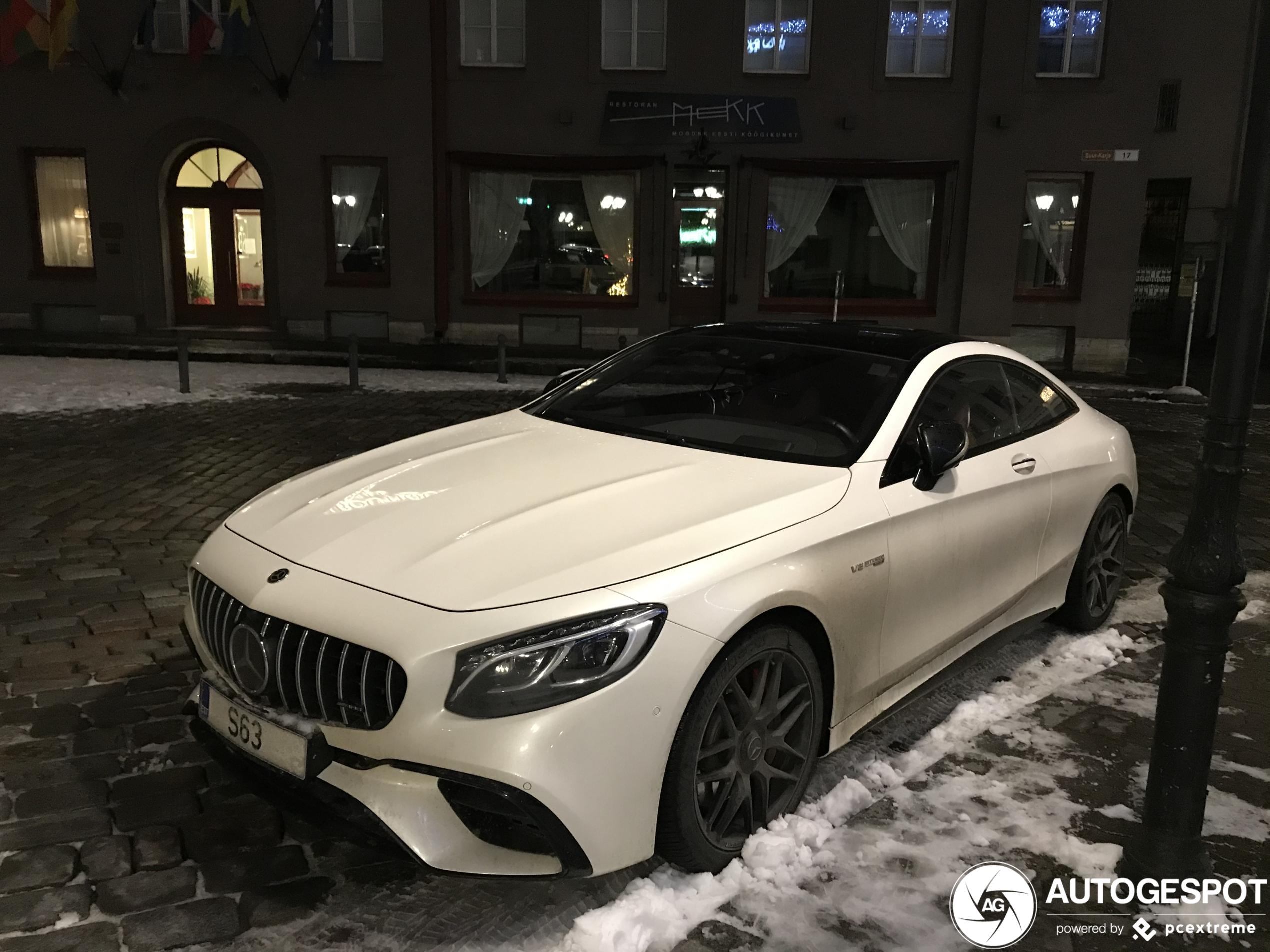 Mercedes-AMGS 63 Coupé C217 2018