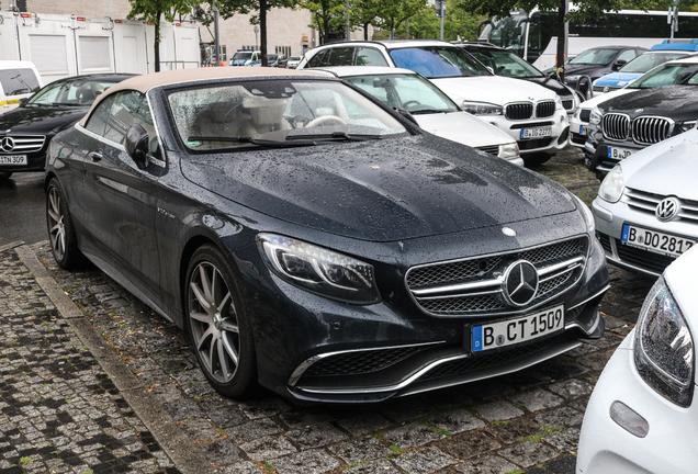 Mercedes-AMG S 65 Convertible A217