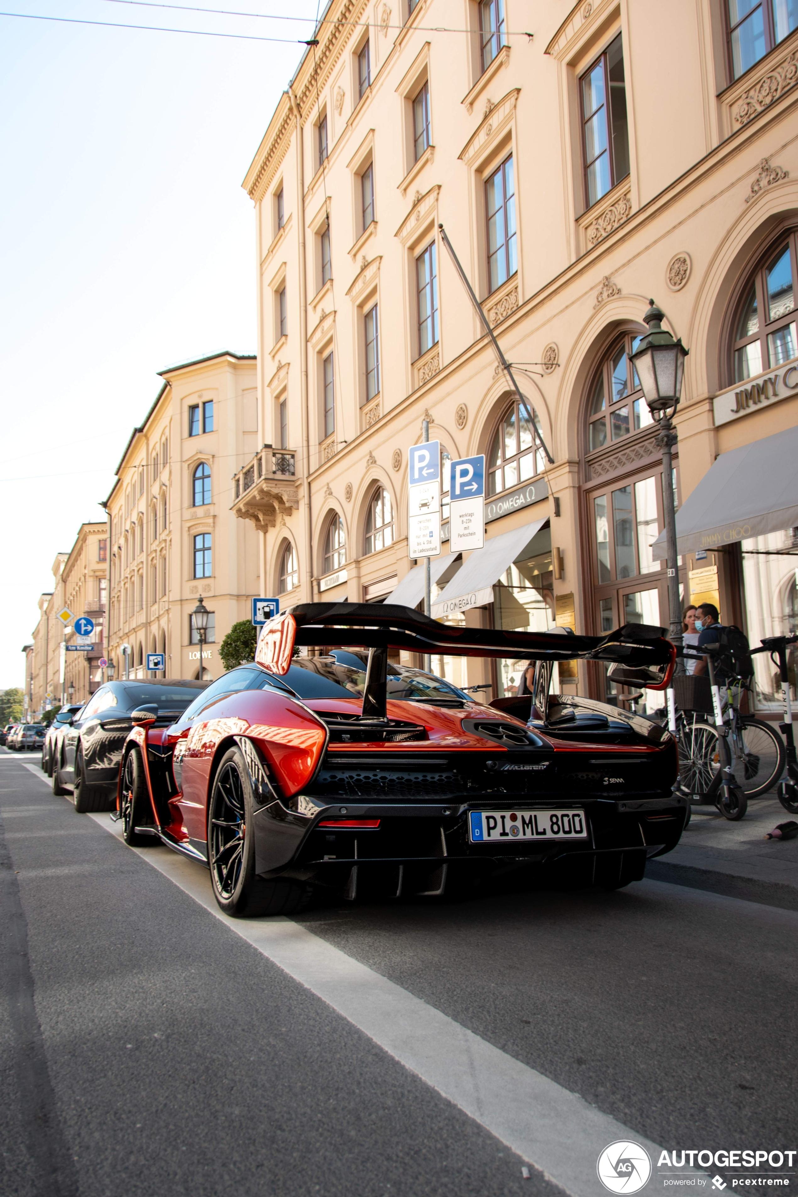 McLaren Senna schudt Berlijn wakker