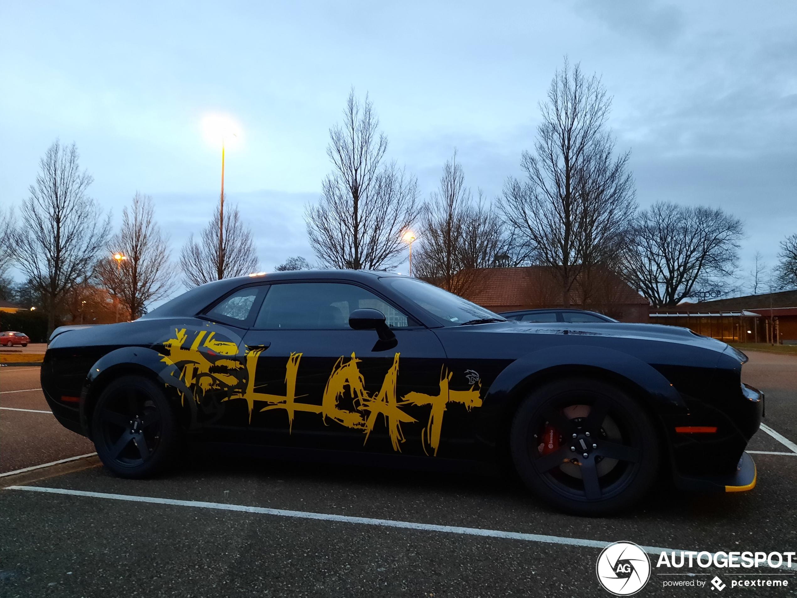 DodgeChallenger SRT Hellcat 2017