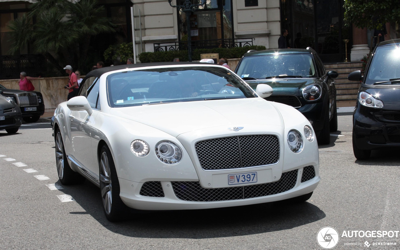 Bentley Continental GTC 2012