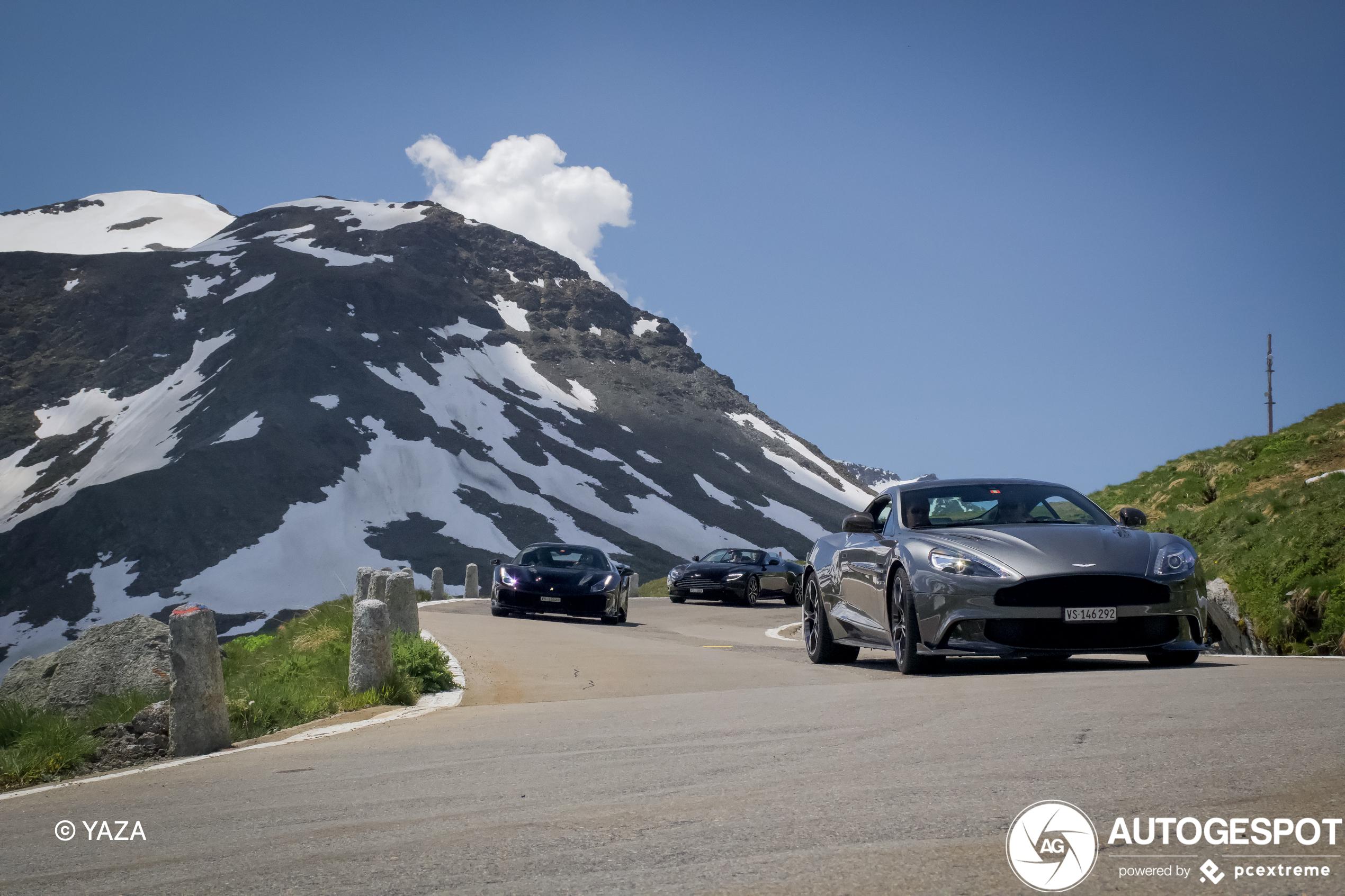 Aston Martin Vanquish S 2017