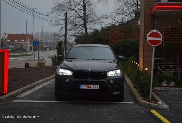 BMW X6 M F86 Edition Black Fire