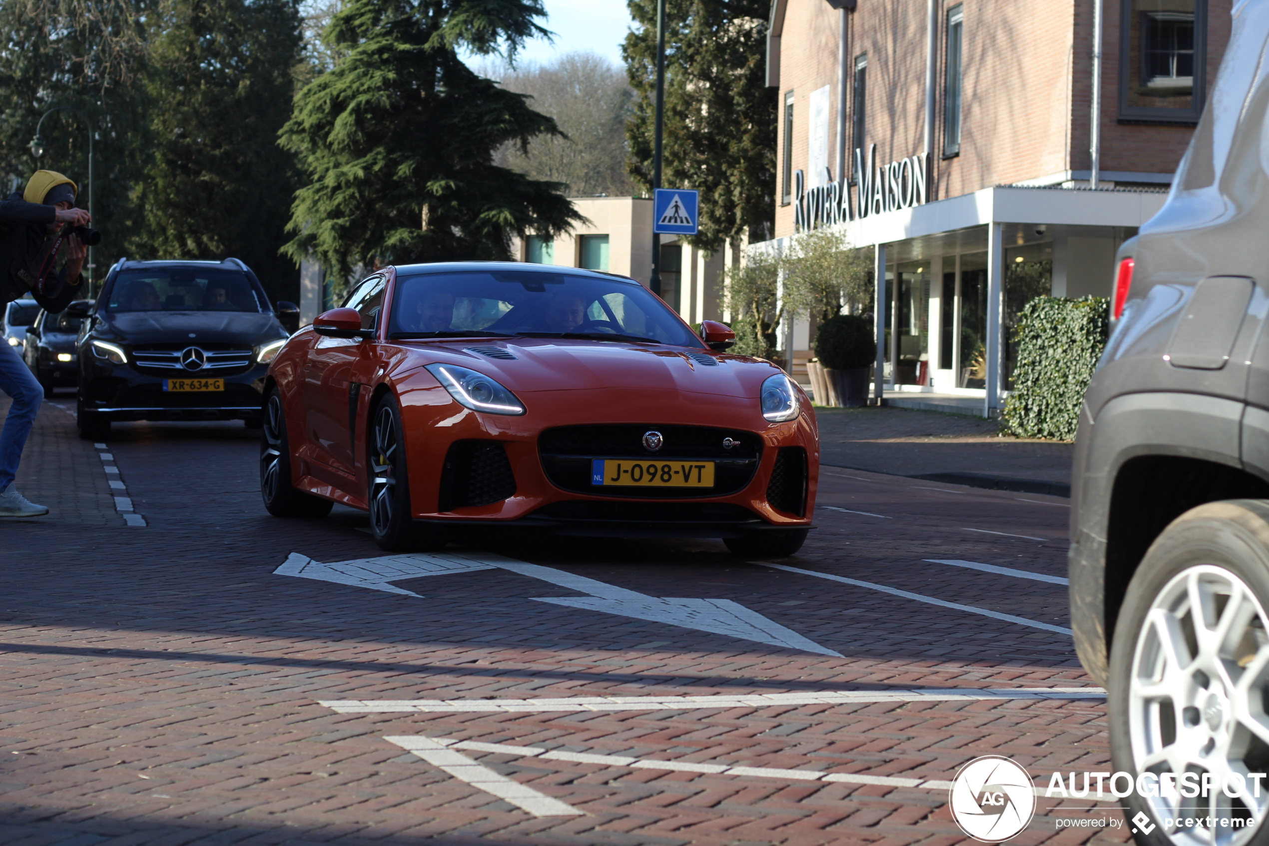 Stoer! Nieuwe Jaguar F-TYPE SVR in Nederland