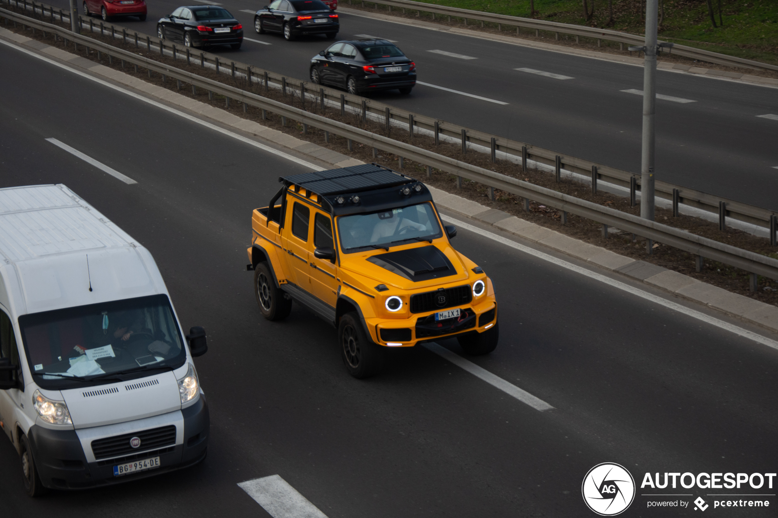 Mercedes-AMG Brabus G 700 XLP Adventure kan alles aan