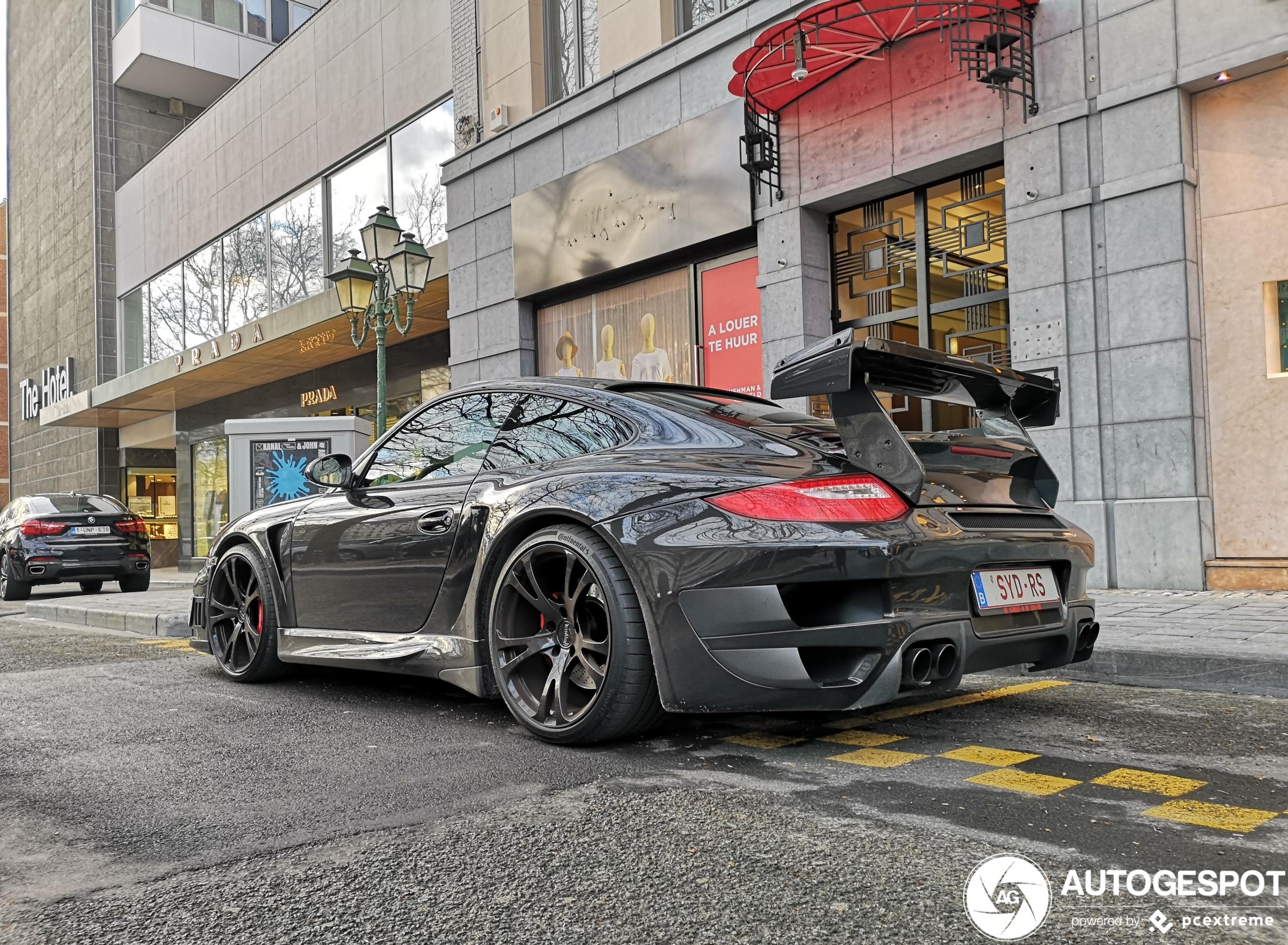 Beestachtig vet: Porsche 997 Techart GT Street R