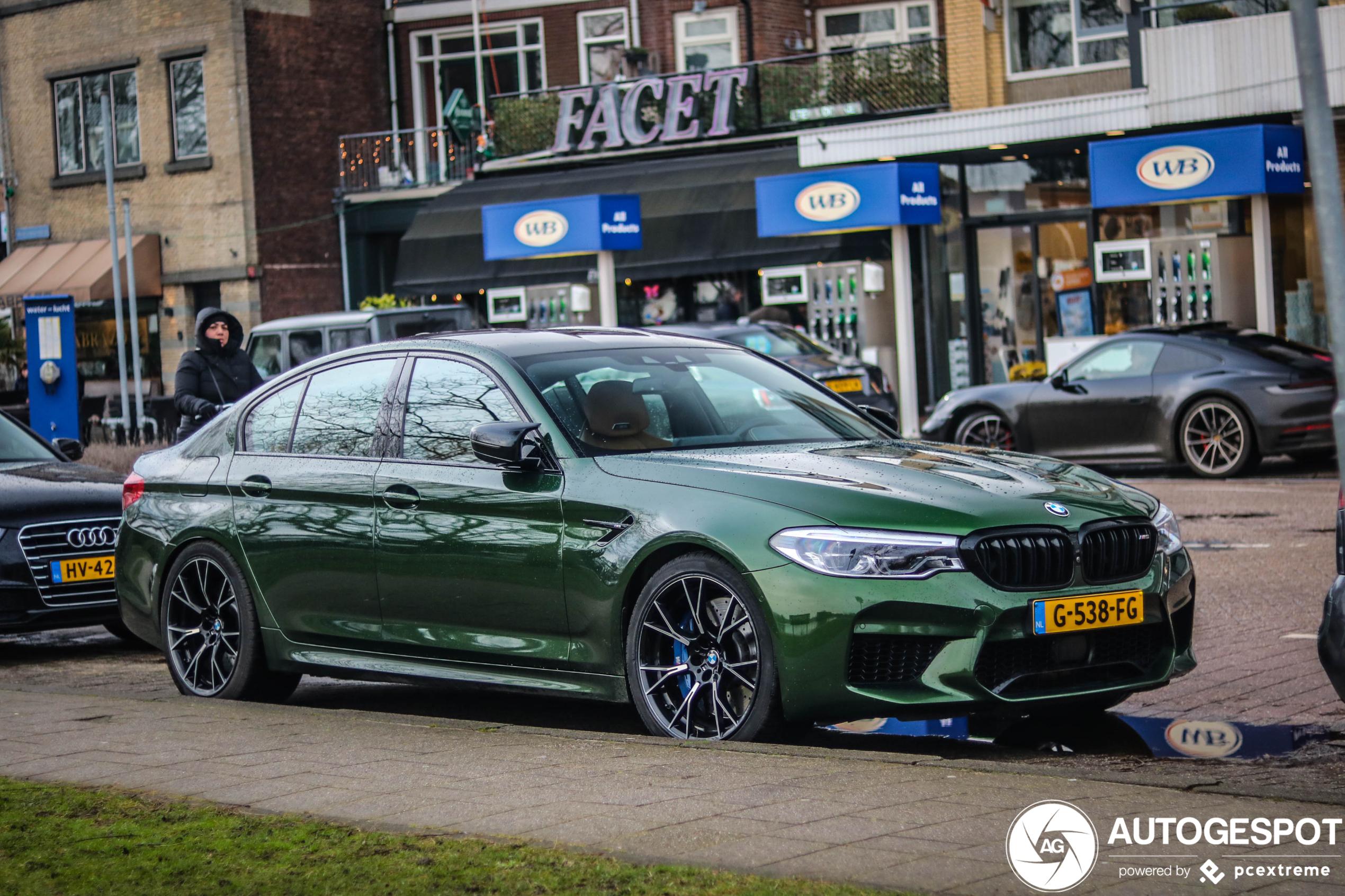 Prachtige BMW M5 Competition pakt Spot van de dag