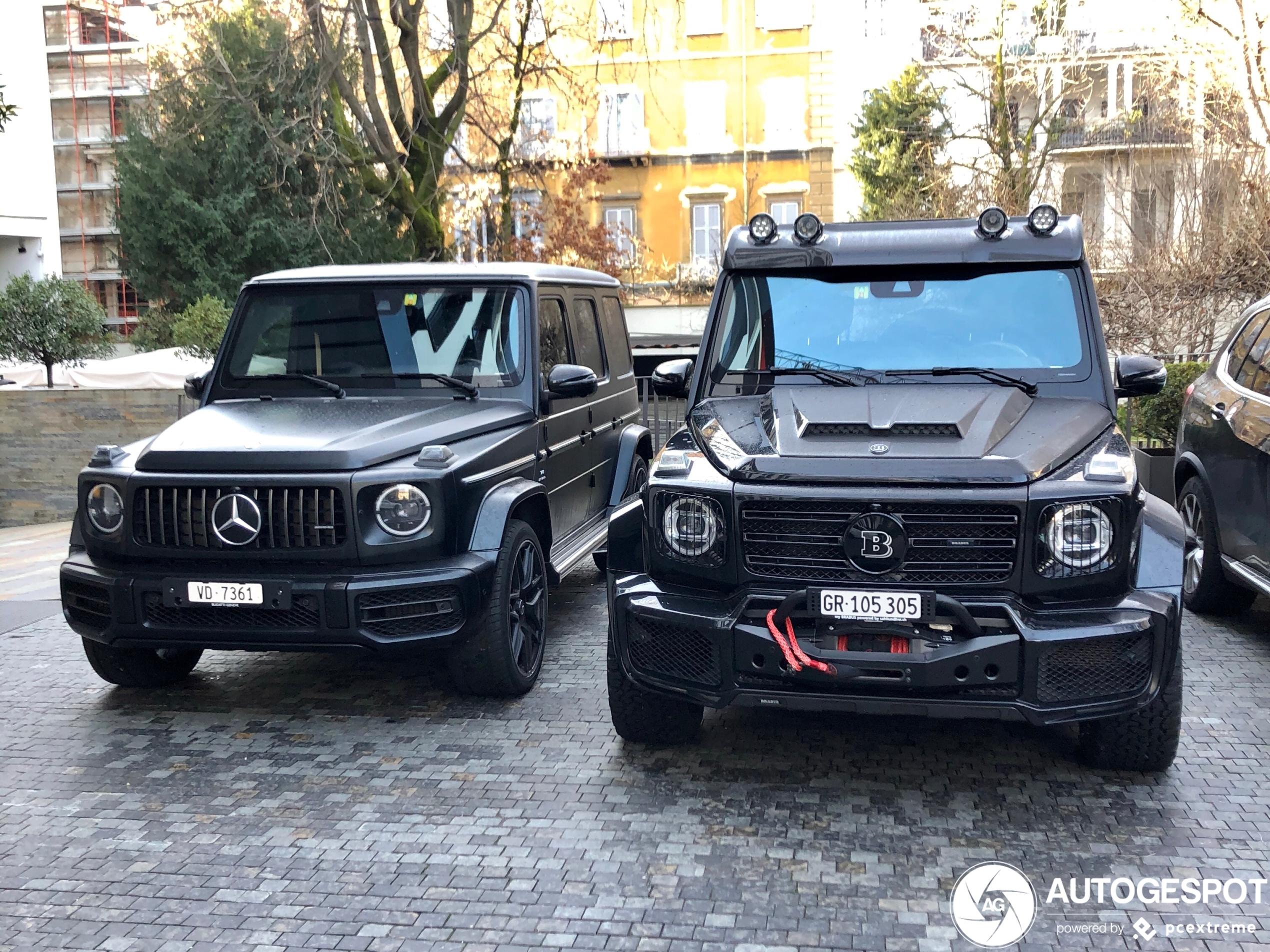 Een normale Mercedes-Benz G-Klasse is maar zo normaal