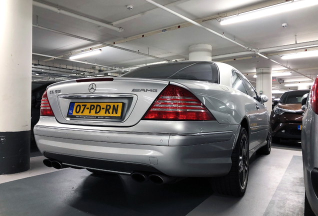 Mercedes-Benz CL 55 AMG C215 Kompressor