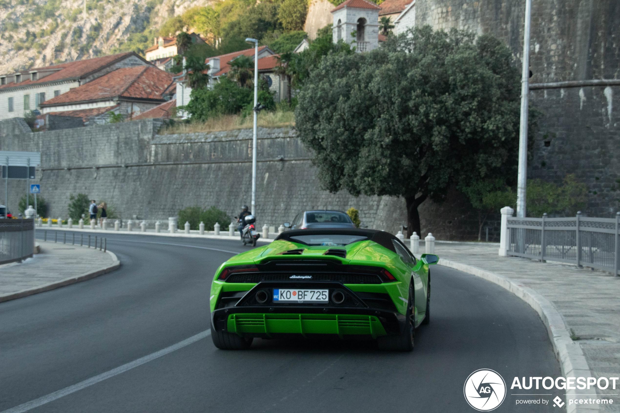 Welke groene Lambo gaat met jou mee naar huis?