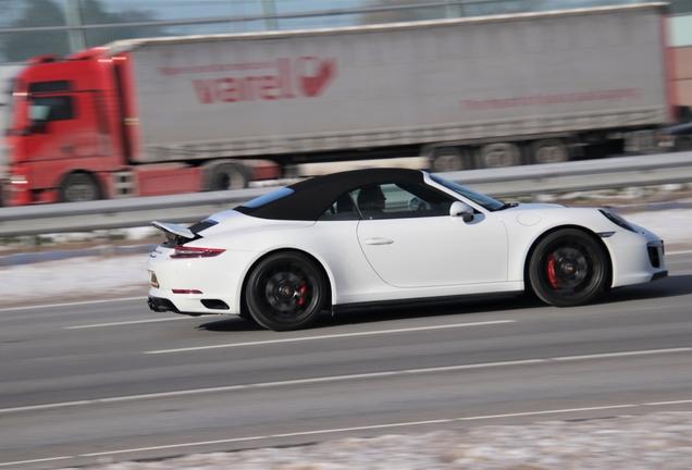 Porsche 991 Carrera GTS Cabriolet MkII