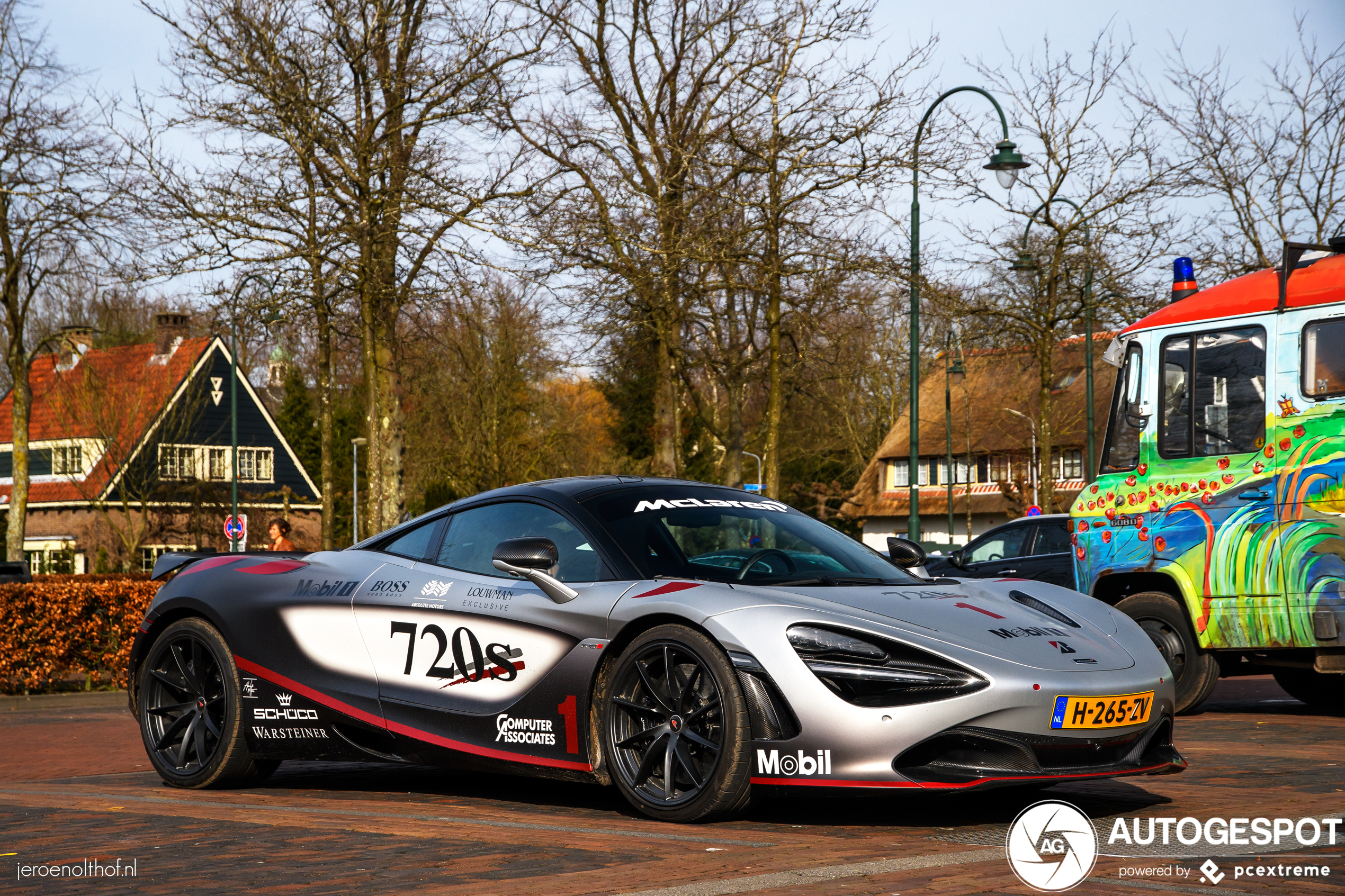McLaren 720S brengt ode aan McLaren Formule 1