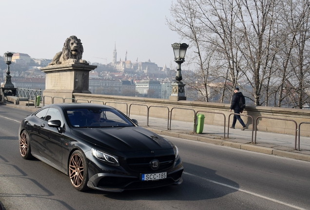 Mercedes-Benz Brabus 850 6.0 Biturbo Coupe C217