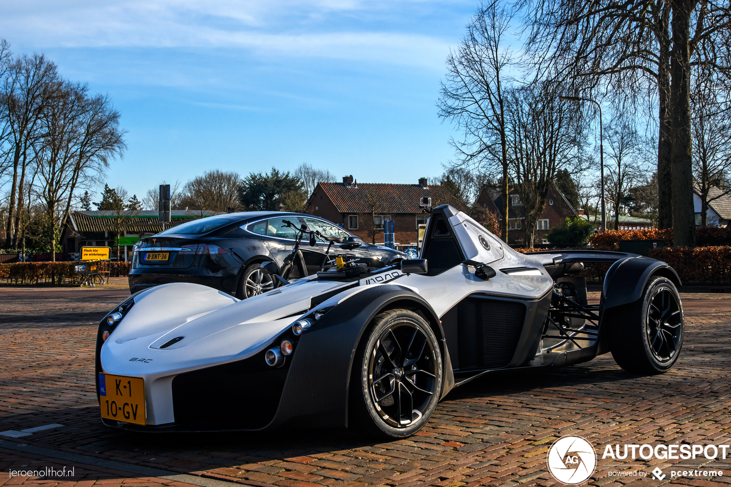BAC Mono is ultieme lichtgewicht Formule 1-auto én op Nederlandse platen