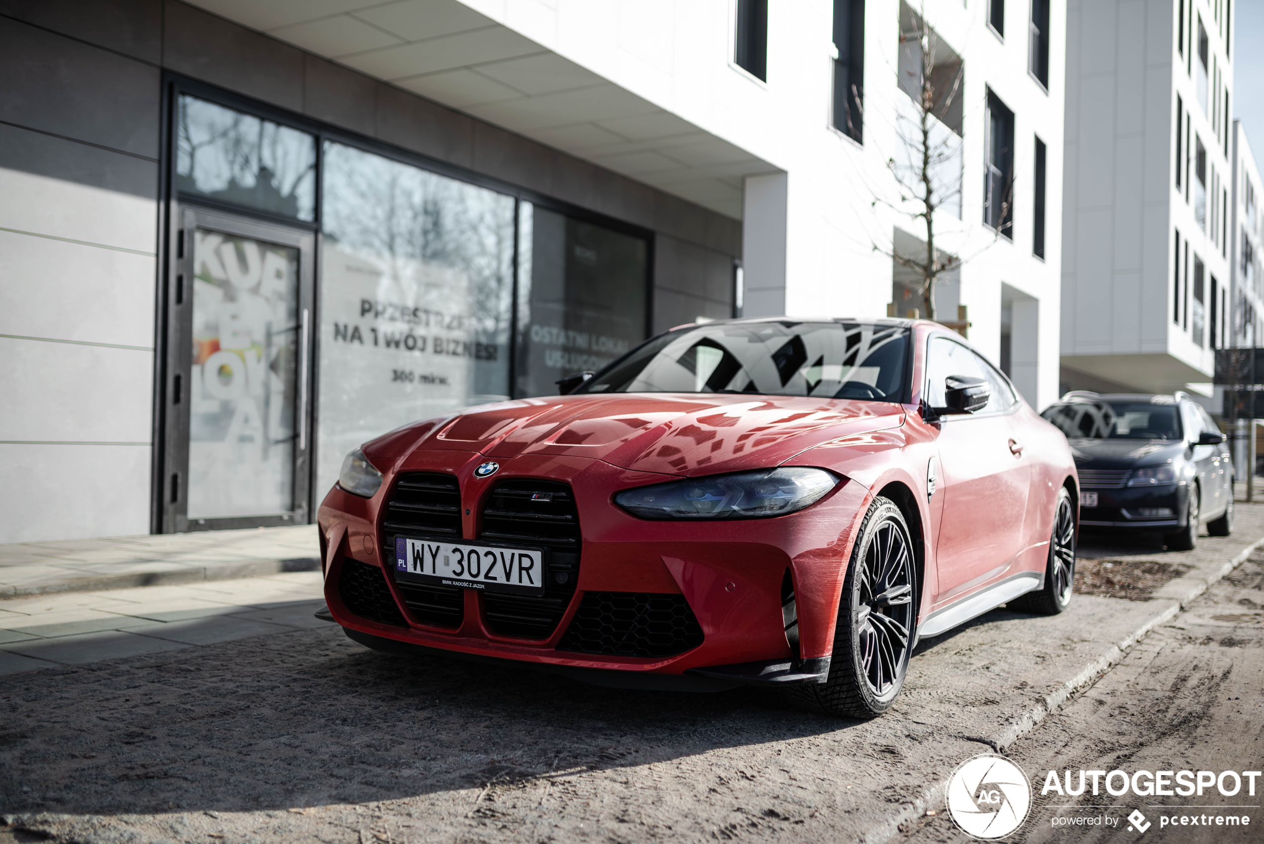 First time we see the BMW M4 in M Toronto Red