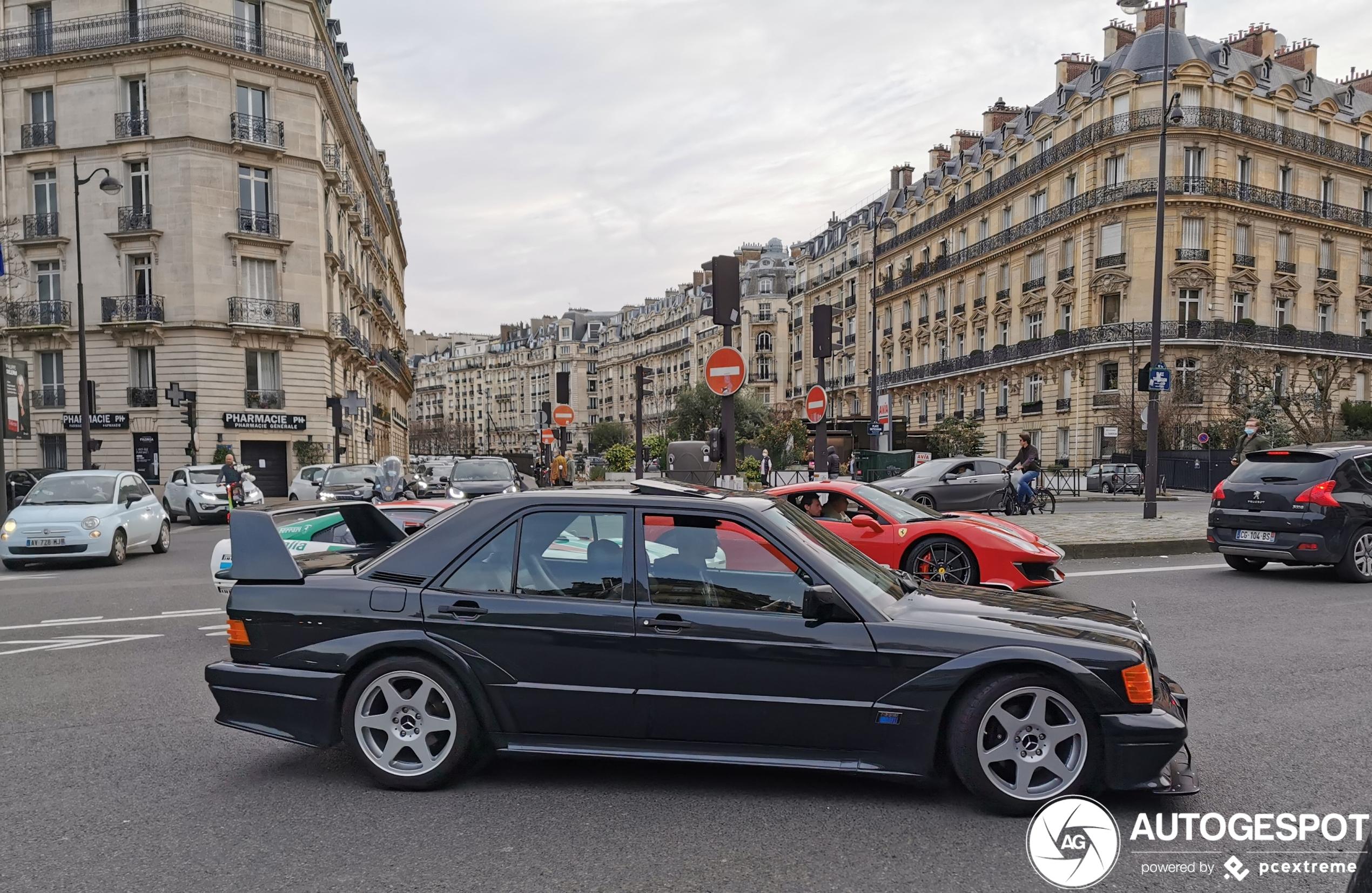 Mercedes-Benz 190E 2.5-16v EVO II is onderdeel van stoere combo