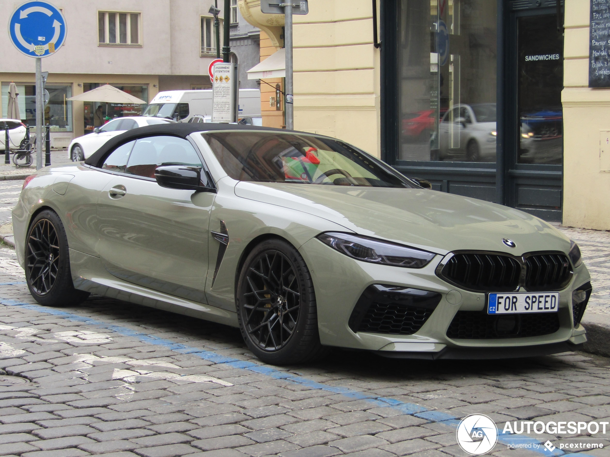 BMWM8 F91 Convertible Competition