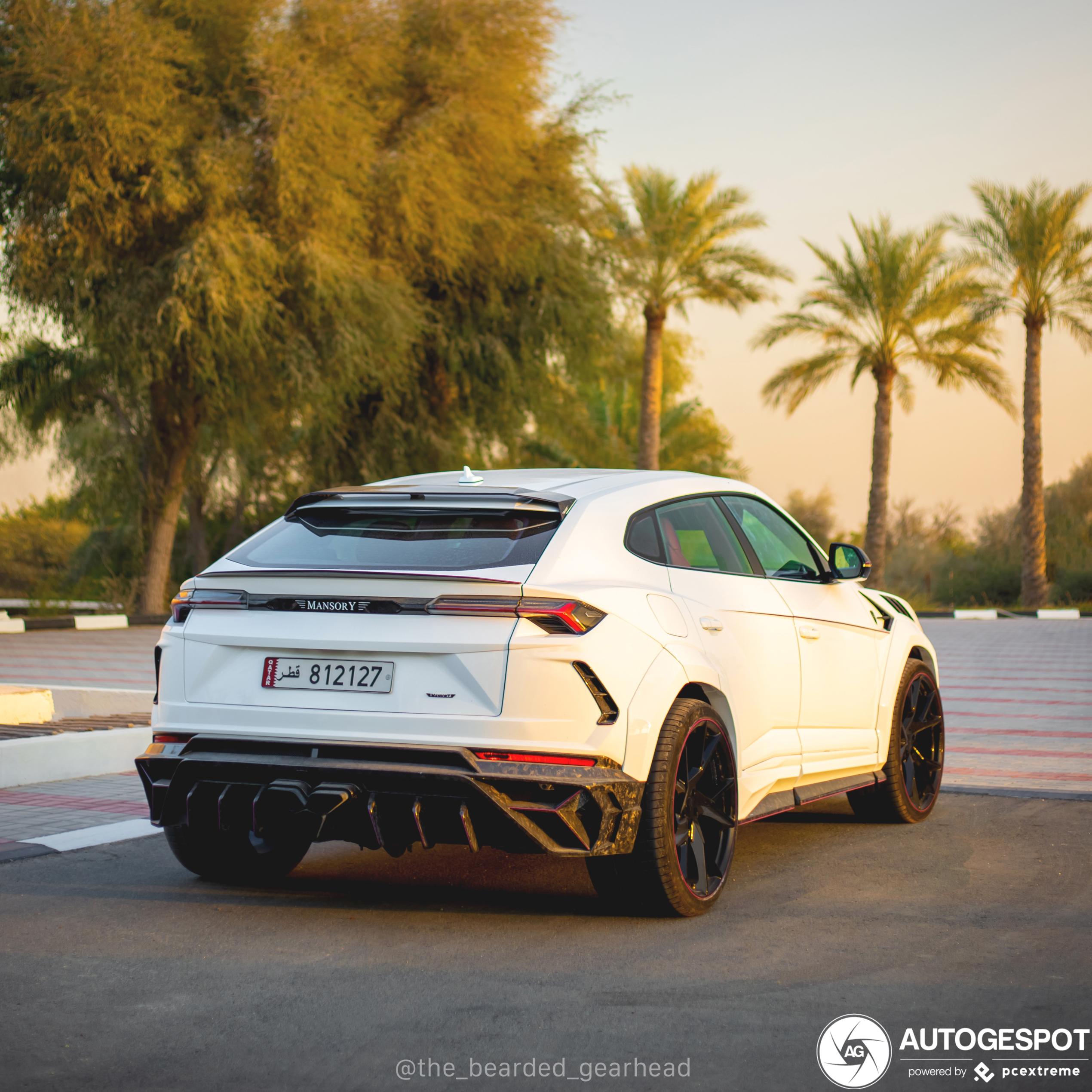 Lamborghini Urus Mansory is lekker opzichtig in Qatar