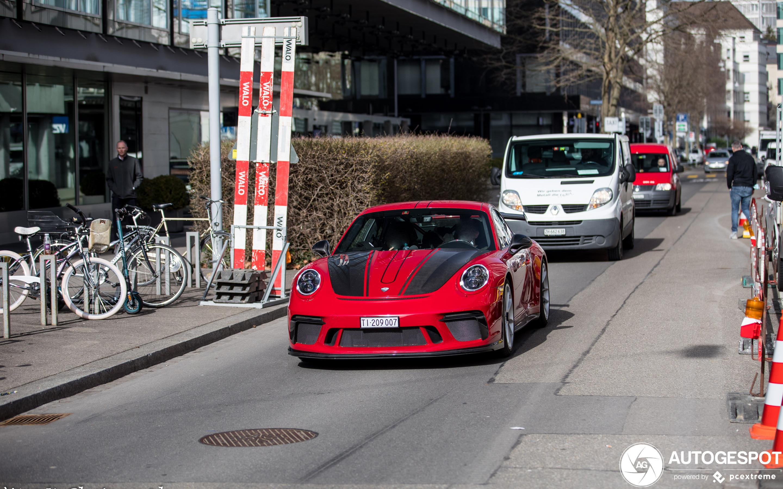 Porsche 991 Techart GT3 MkII