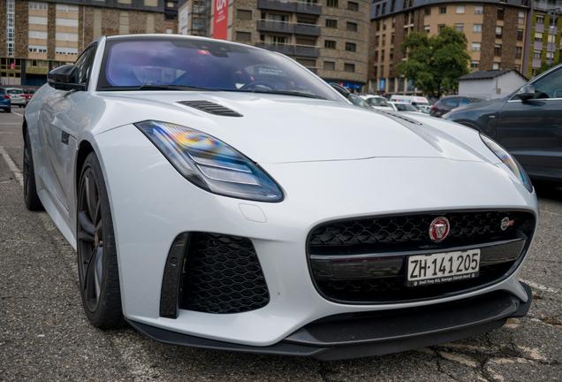 Jaguar F-TYPE SVR Coupé 2017