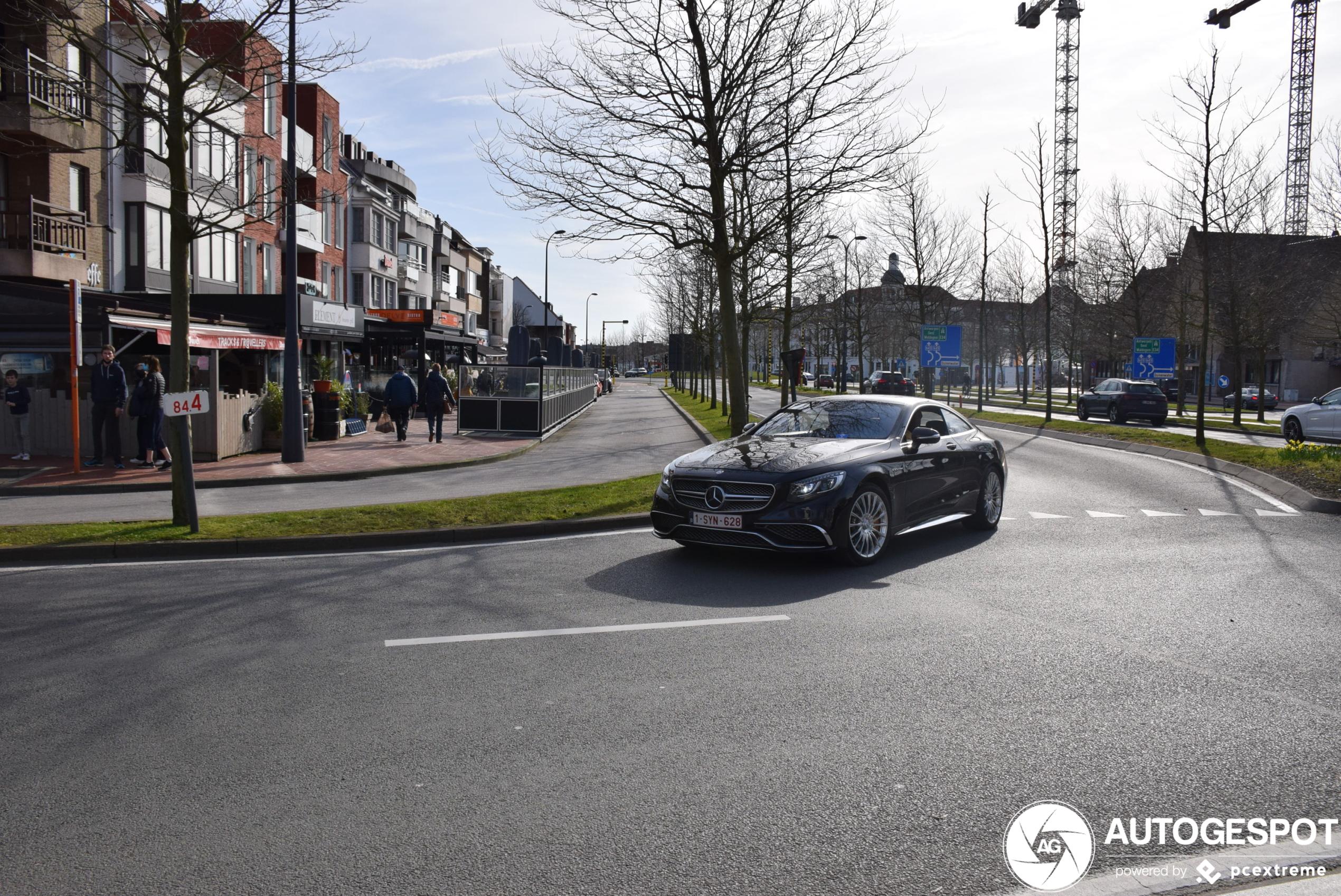 Mercedes-AMG S 65 Coupé C217