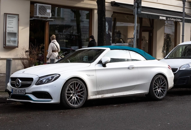 Mercedes-AMG C 63 S Convertible A205 Ocean Blue Edition