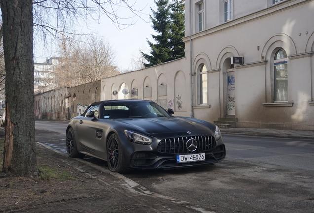 Mercedes-AMG GT C Roadster R190 2019