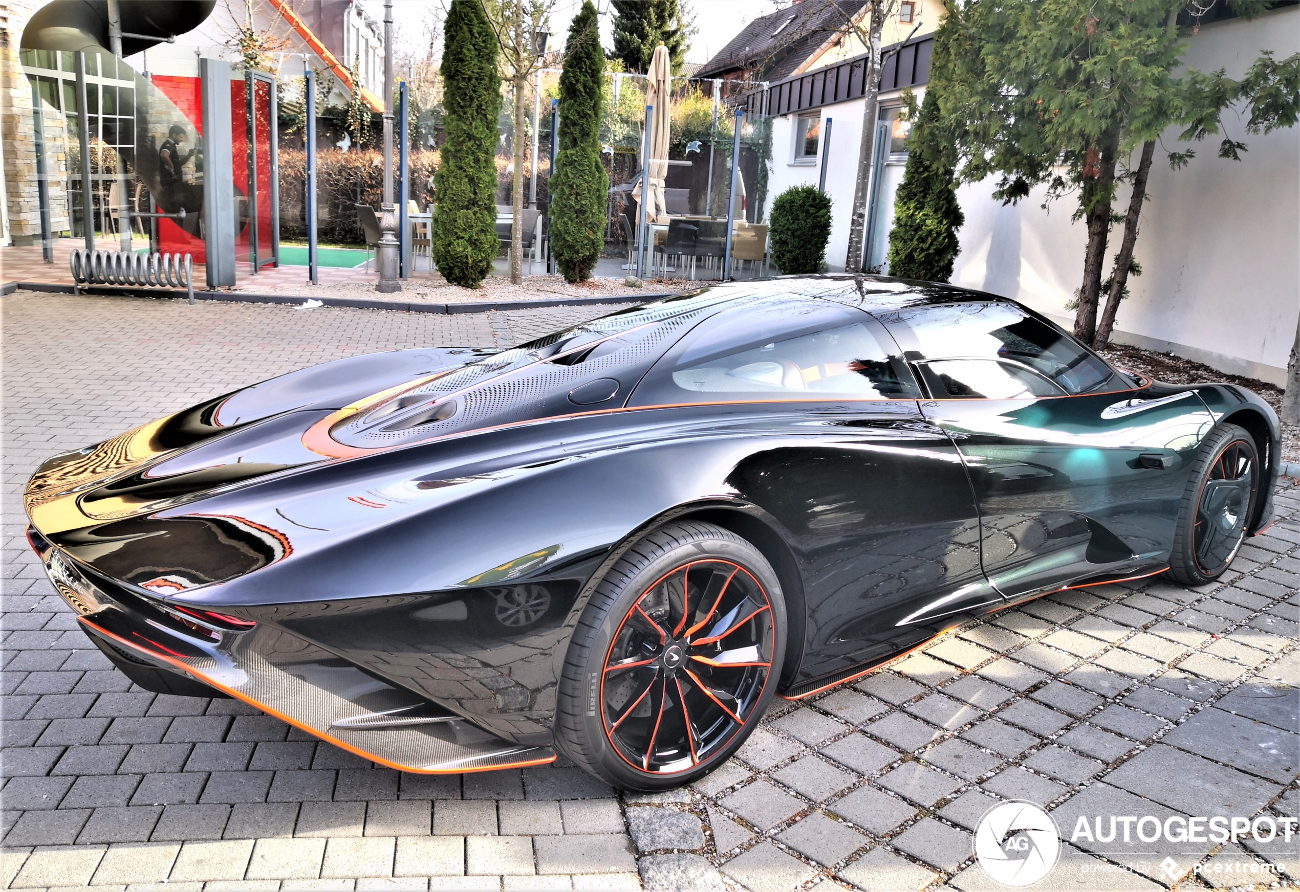 WOW! 2nd McLaren Speedtail shows up in Germany