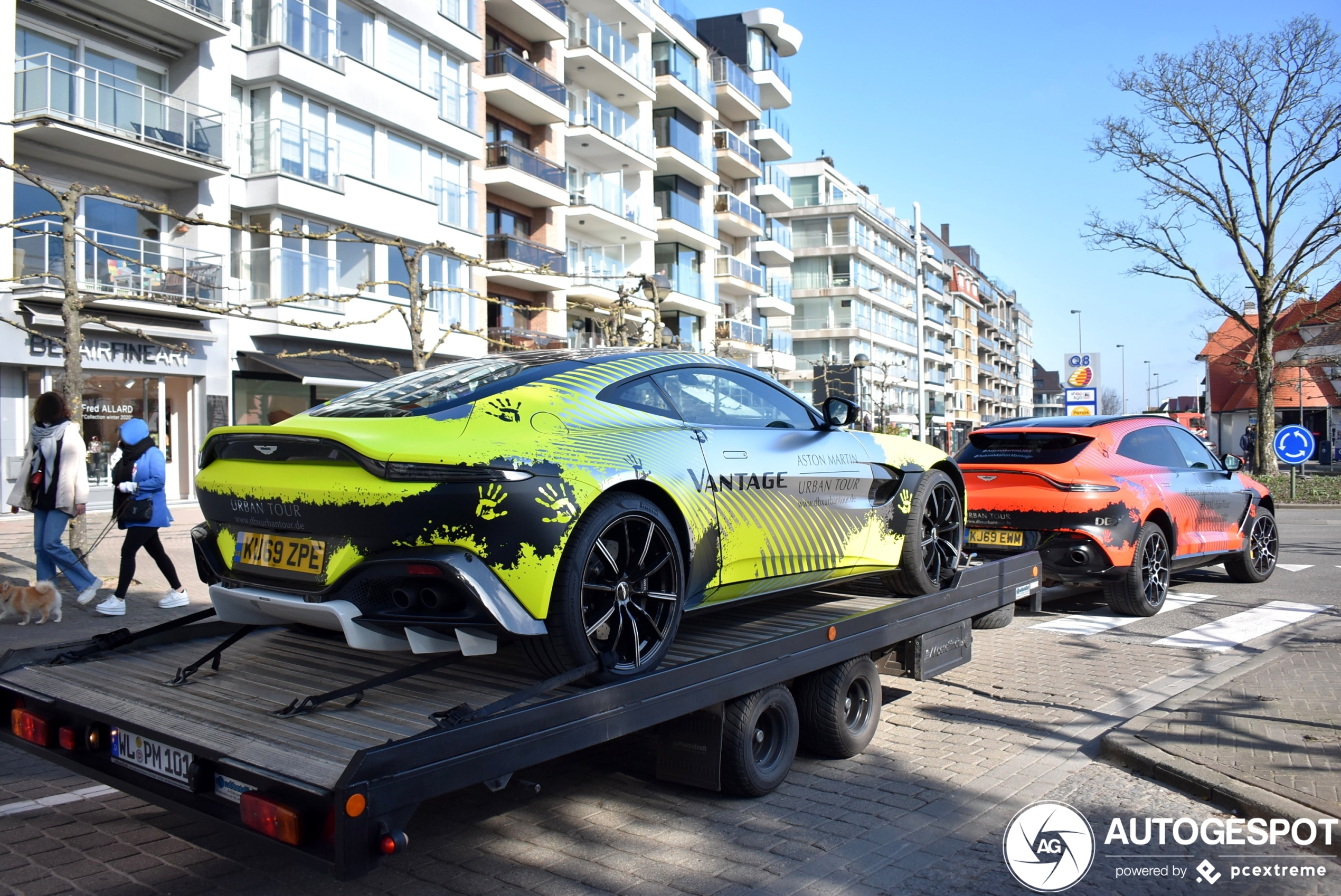 Aston Martin DBX laat Knokke-Heist zijn mogelijkheden zien