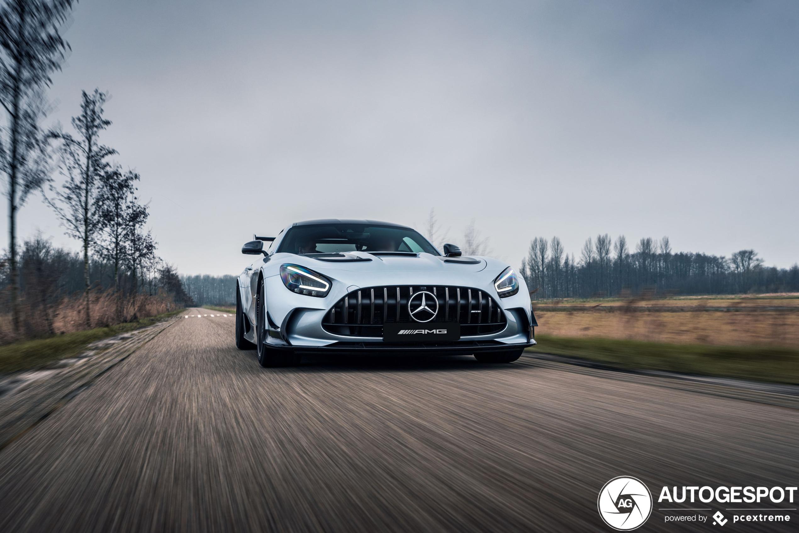 Kwijlen bij de Mercedes-AMG GT Black Series