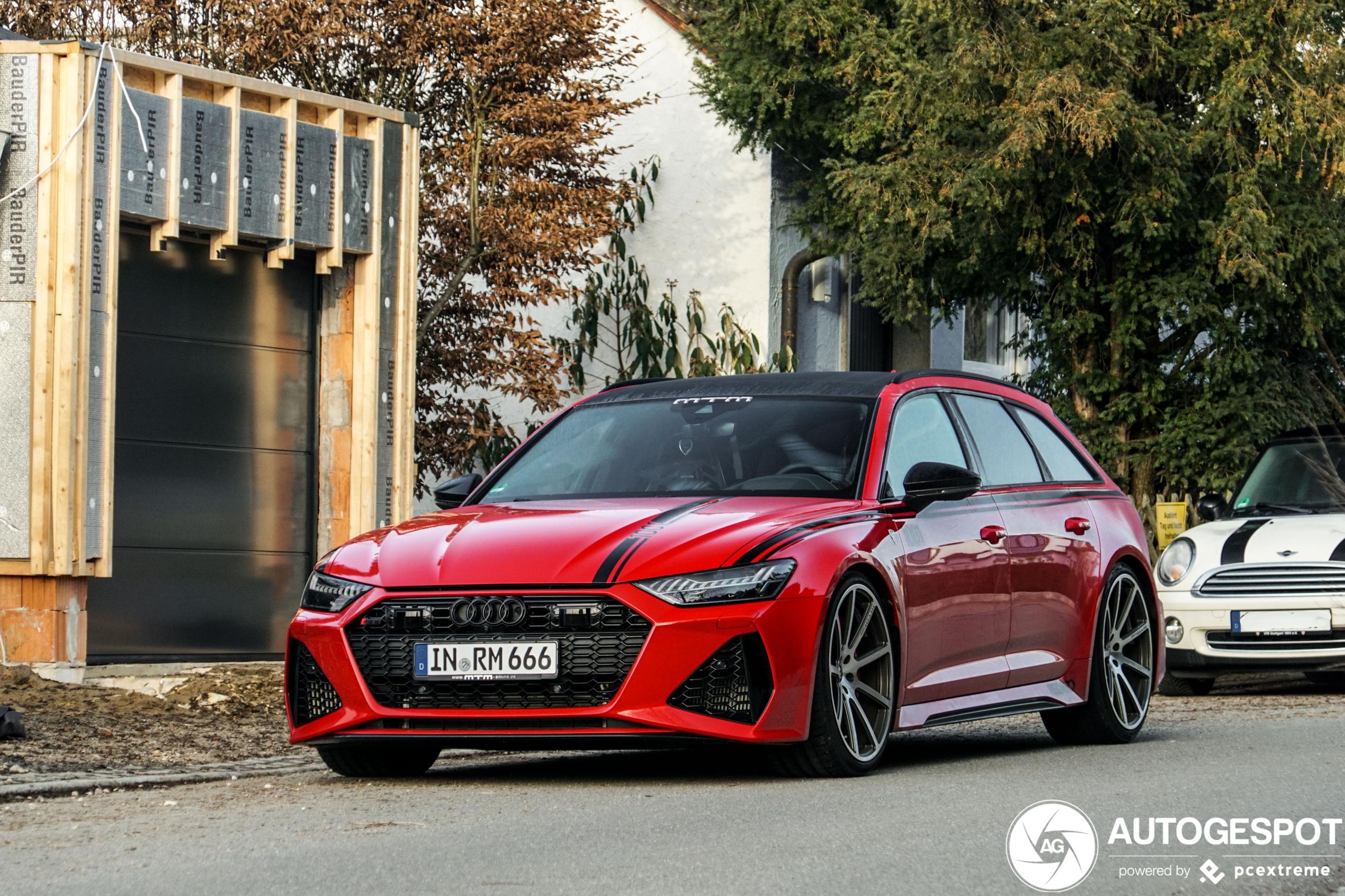 Met de Audi MTM RS6 Avant wil je het gevecht niet aan gaan