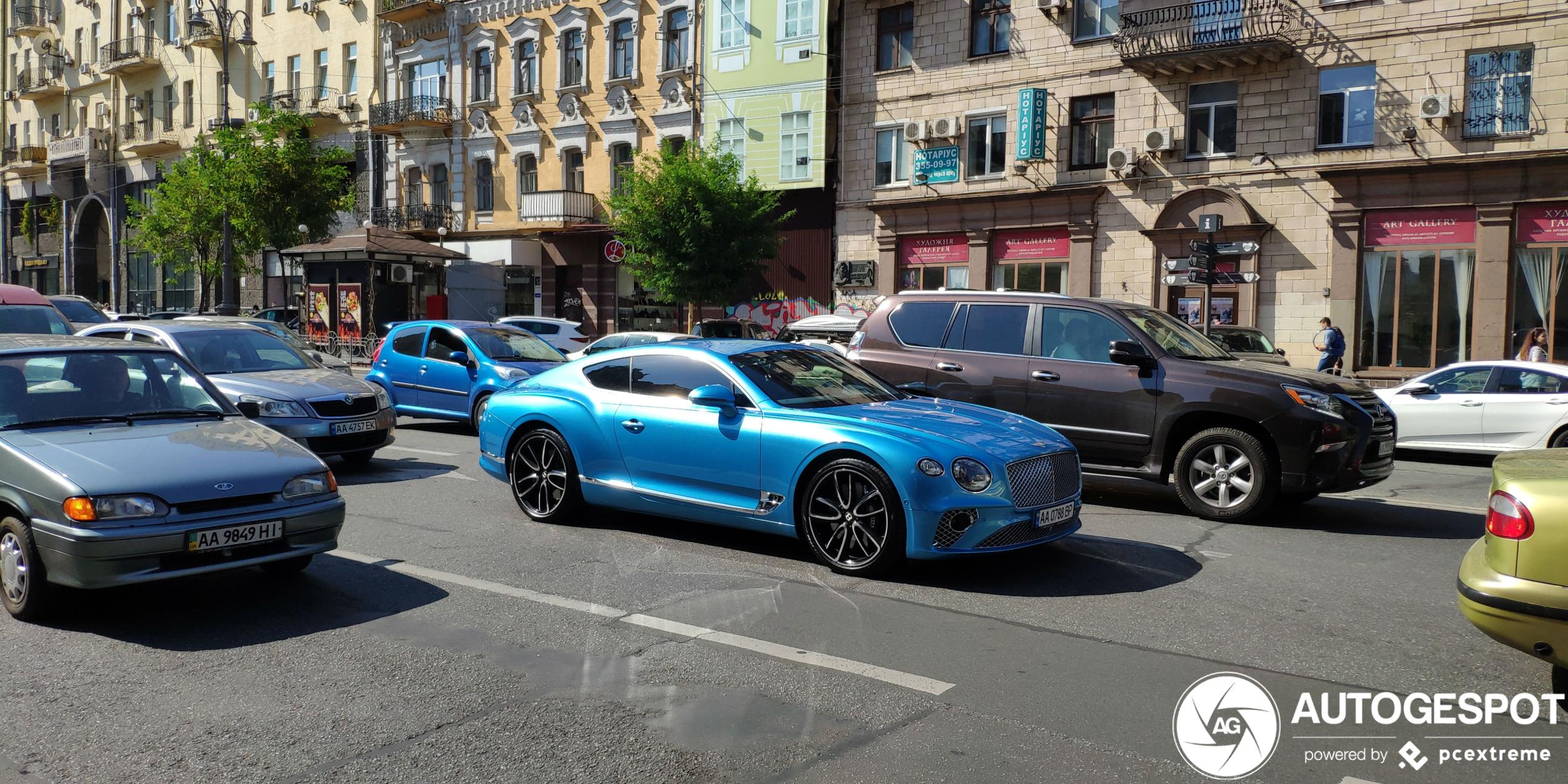 BentleyContinental GT 2018