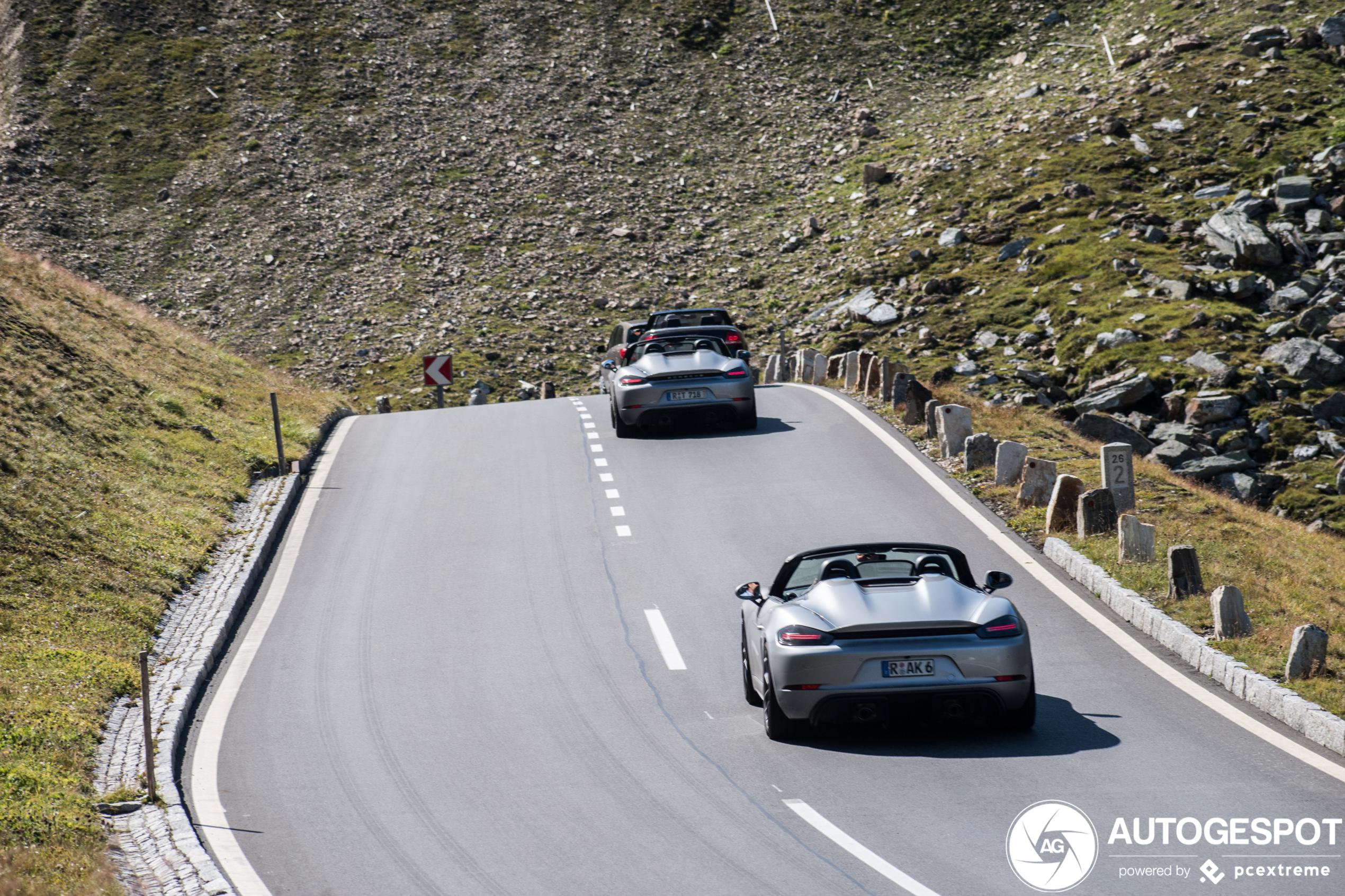 Porsche718 Boxster Spyder