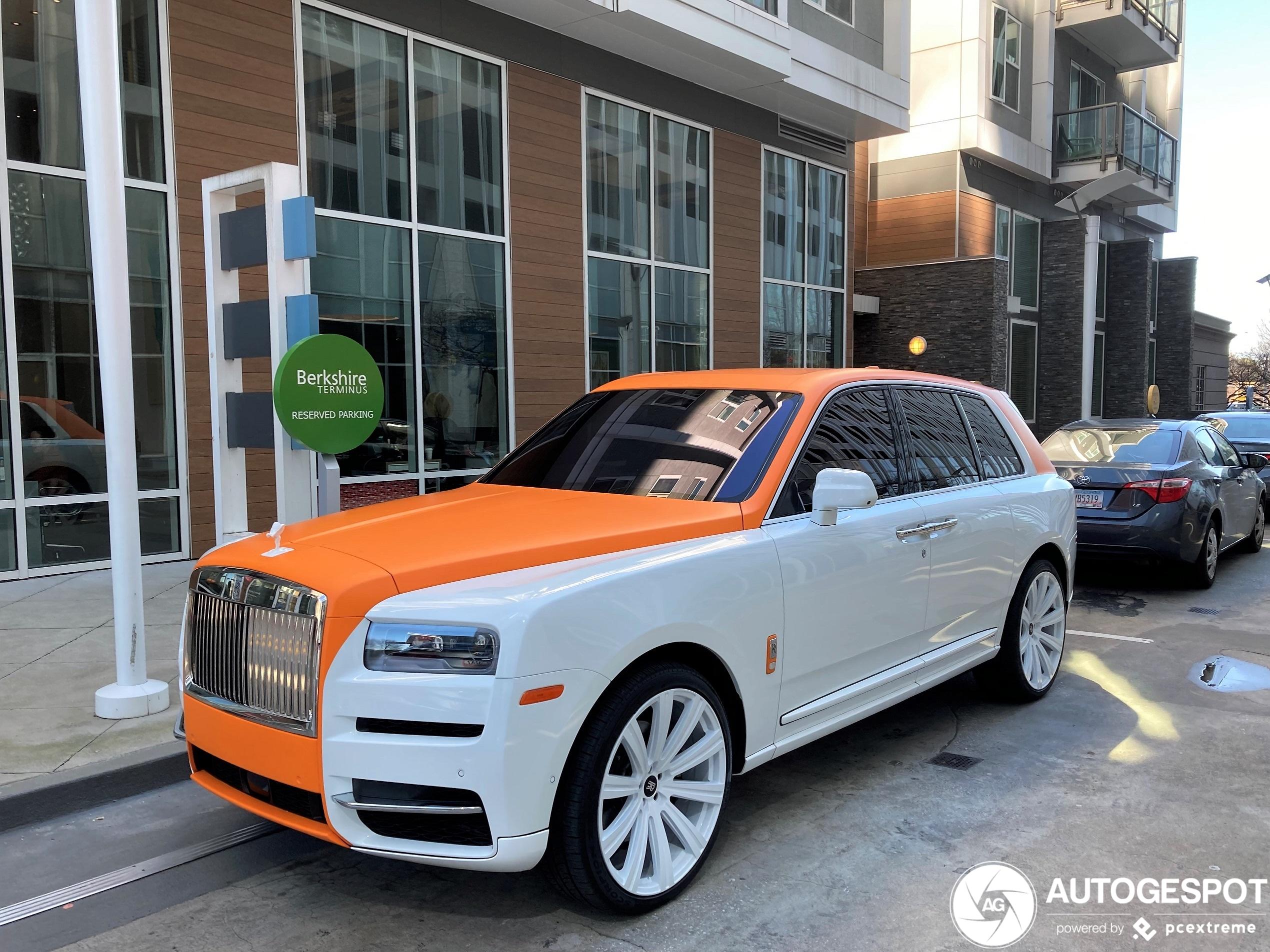 Rolls-Royce Cullinan is alles behalve stijlvol meer
